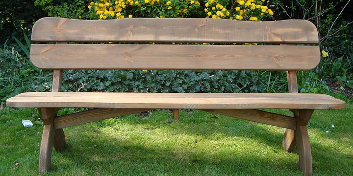How to Make Garden Bench