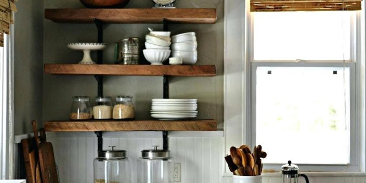 How to Build Kitchen Shelving?