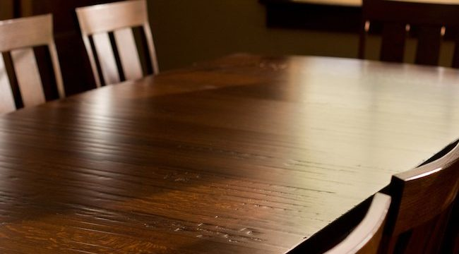 How to clean wood furniture?