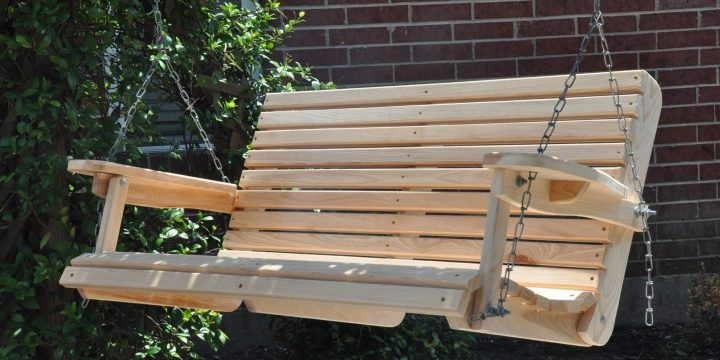 How to Build a Wooden Porch Swing