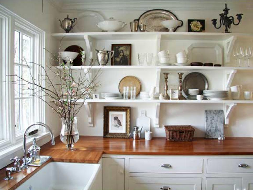 How to Build Kitchen Shelving