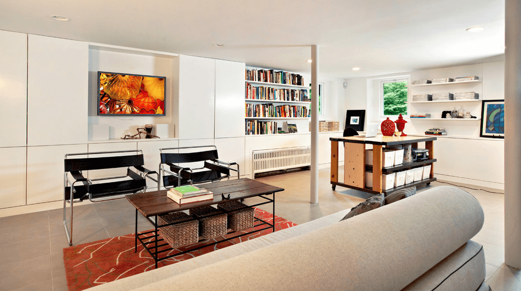 Basement Decorating Ideas To Create A Multifunctional Living Space Wood Turned